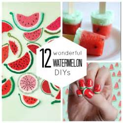 12 wonderful watermelon diy s babble