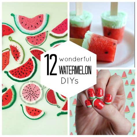 Cool Looking Beds 12 wonderful watermelon diy s babble