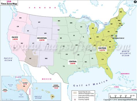 us time zones map with current local time usa time zone map current local time in usa