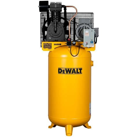 dewalt 80 gal 7 5 hp 175 psi 2 stage stationary electric air compressor dxcmv7518075 the home