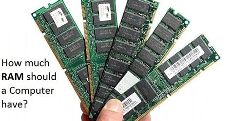 how much ram is how much ram is sufficient for a fast computer 2gb 4gb