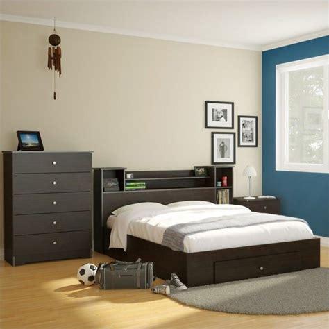 espresso headboard full full bookcase headboard in espresso 4653