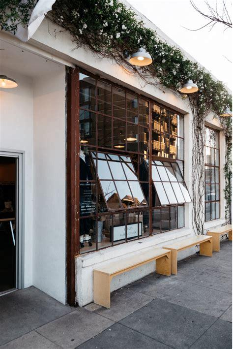 august moodboard savor  cafe exterior restaurant