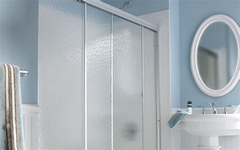 home depot bathtub shower doors choosing the right shower door at the home depot