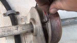 tips for fixing garage door broken cables and torsion