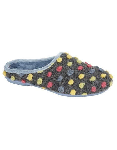 quality slippers sleepers spotted knit mule slippers quality shucentre