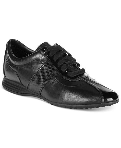 cole haan womens sneakers cole haan s bria grand sneakers in black lyst