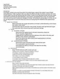 Assisted Essay by Booth Informative Speech Outline And Works Cited Booth
