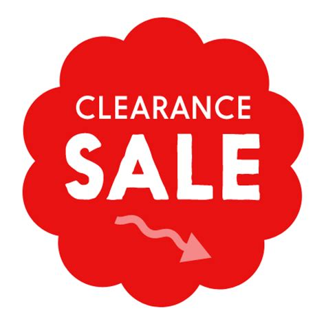 clearance sale clearance sale items mixed products