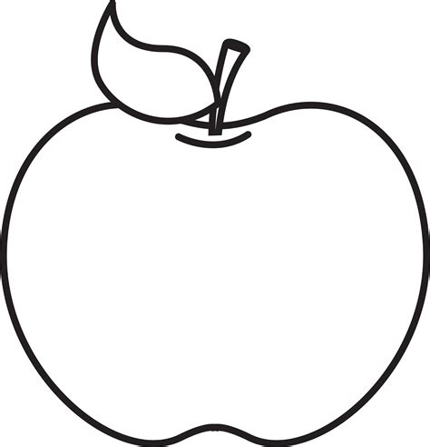 black and white clipart apple clip black and white 21611