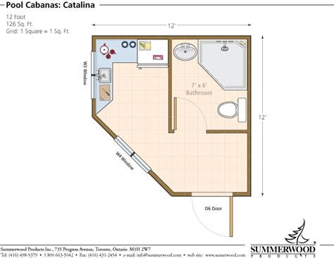 pool house floor plan image pool house cabana floor plans