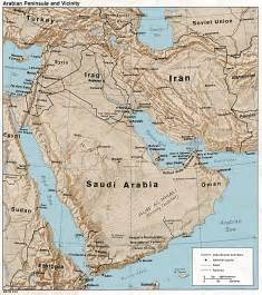 map arab middle east maps perry casta 241 eda map collection ut library