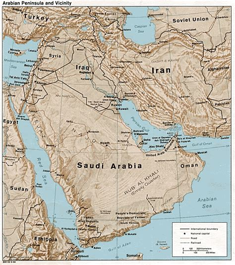 arabian peninsula map arabian peninsula tourist map saudi arabia mappery
