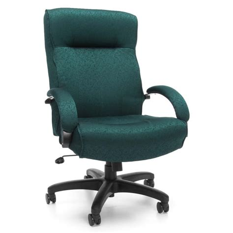 Ofm Big And Tall Executive High Back Office Chair Chairs Teal Swivel Chair