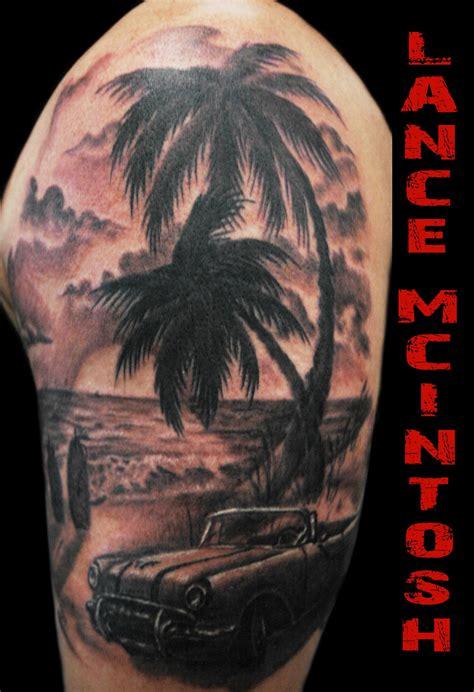 ocean scene tattoos classic car my tattoos