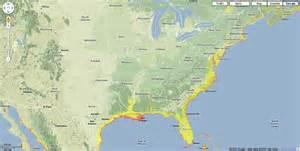 maps us map sea level
