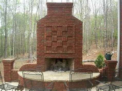Outdoor Fireplace Brick by Standout Outdoor Brick Fireplaces Delectable Decorative