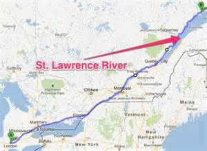 st river on canada map gotta the uss edson