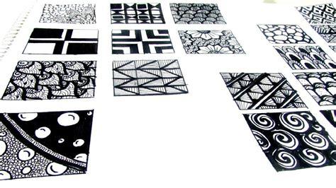 pattern play zentangle book 20 easy zen tangle patterns youtube