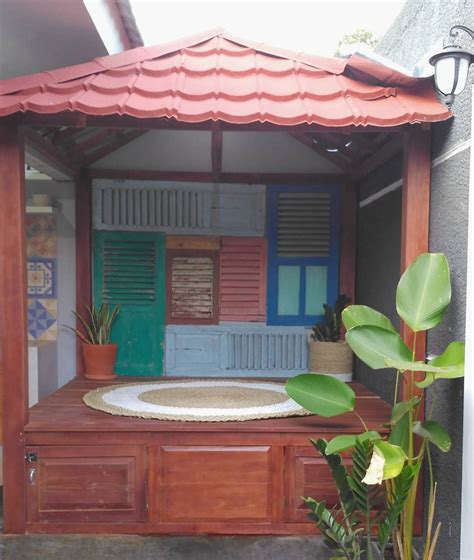 desain rumah kekinian desain rumah kekinian dengan gazebo idaman millennial
