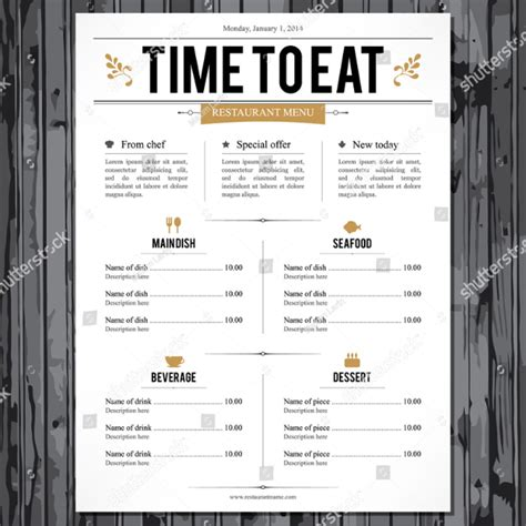 Restaurant Menu Template 25 Free Premium Download Deli Menu Templates Free Downloads