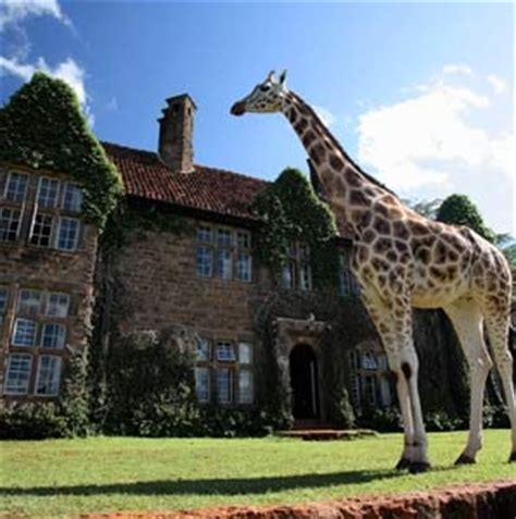 giraffe manor travel leisure