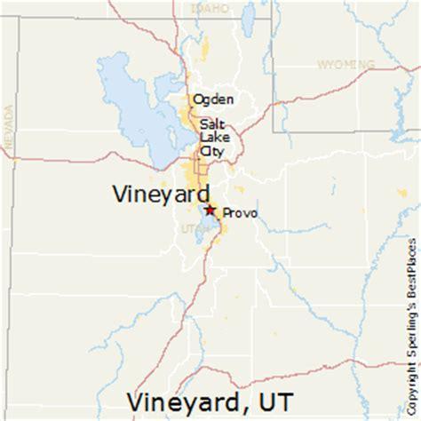vineyard utah map best places to live in vineyard utah