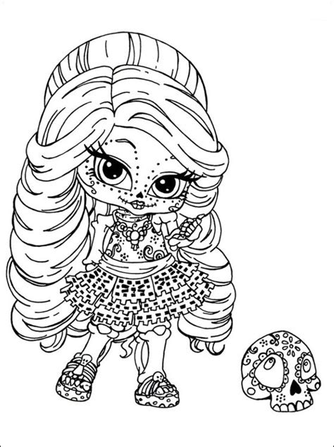 monster high skullette coloring pages 10 mejores im 225 genes de monster high para colorear en