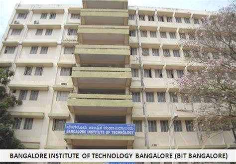 Bangalore Mba by Bangalore Institute Of Technology Bangalore Mba Program