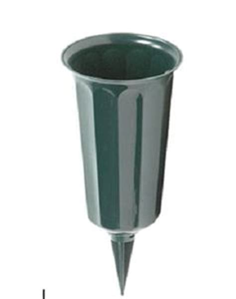 Cemetery Vase Inserts by This 10 Inch Plastic Cemetery Cone Vase Comes With A