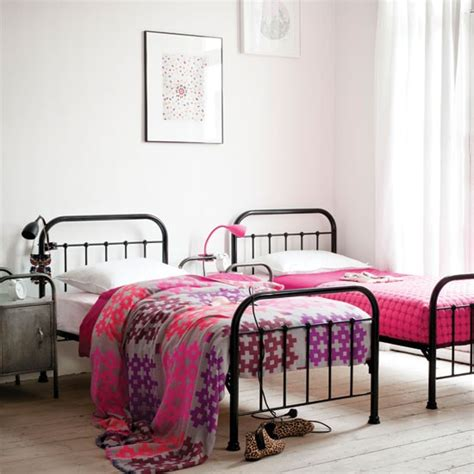 bedroom ideas with metal beds 51 stunning twin girl bedroom ideas ultimate home ideas