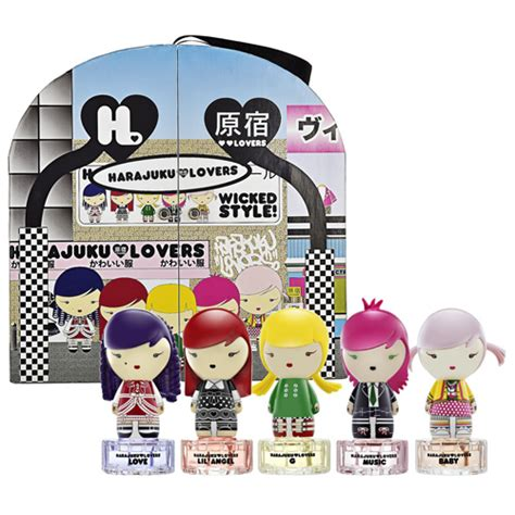Harajuku Set harajuku style gift set makeup4all