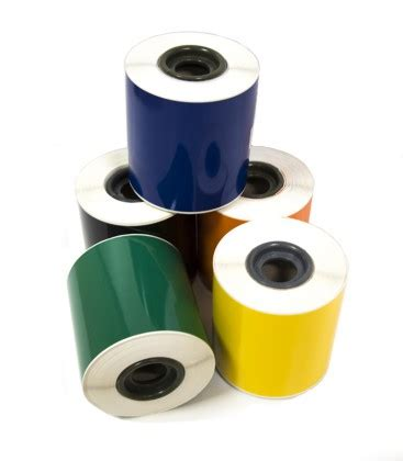 printable vinyl roll vinyl rolls 100mm x 25m for labelbug printers