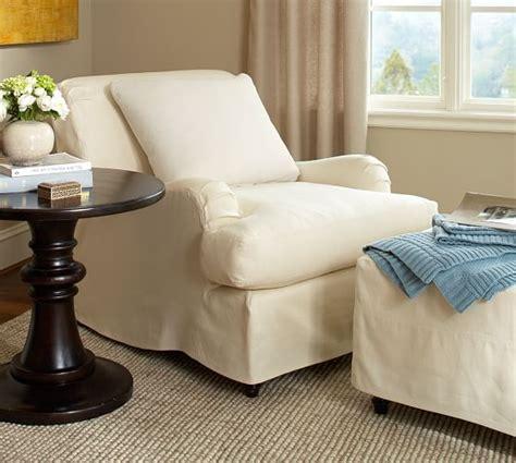 pottery barn armchair covers carlisle slipcovered armchair pottery barn
