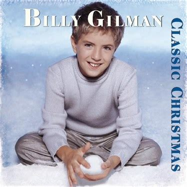 billy gilman album classic christmas kids music