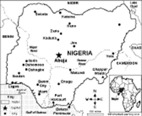 nigeria map coloring page nigeria s flag enchantedlearning com