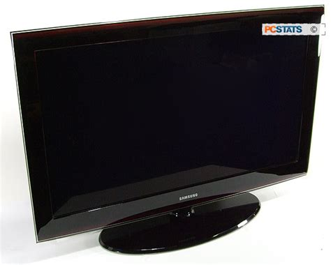 Tv Led Samsung 40inch samsung ln40a650a 40 inch lcd hdtv review pcstats