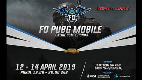 turnamen pubg mobile fo gaming season