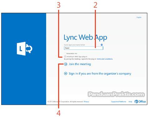 cara membuat undangan meeting di outlook cara mengakses pertemuan meeting online melalui lync web app