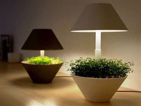 lights to grow herbs indoors eco gadgets lightpot makes indoor plants even more