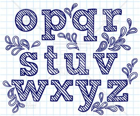 decorative block letters font blue hand drawn font shaded letters and decorations