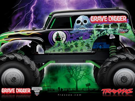 grave digger monster truck images grave digger monster truck drawing maxi truck
