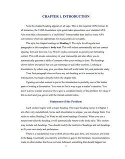 how to write chapter 1 of a dissertation thesis introduction chapter