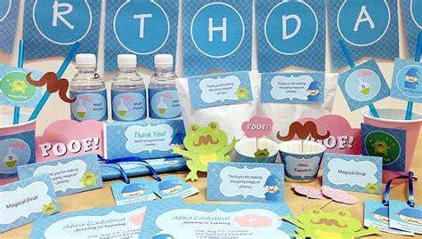 Balon Foil Tsum Tsum Stik printables birthday printables mtrade singapore