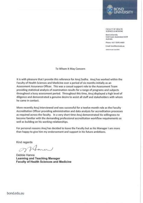 Reference Letter Kingston academic reference letter academic reference letter