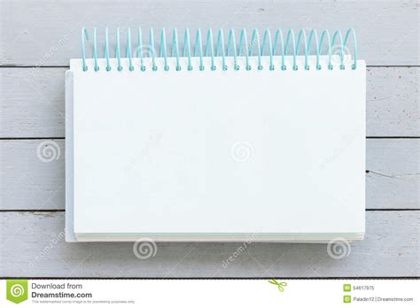 Notebook Wooden Table notebook on wooden table stock photo image 54617975