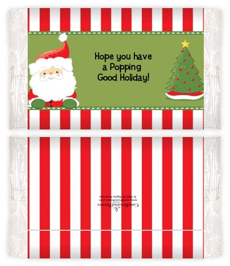 popcorn wrapper template free pin santa claus popcorn wrappers cake on