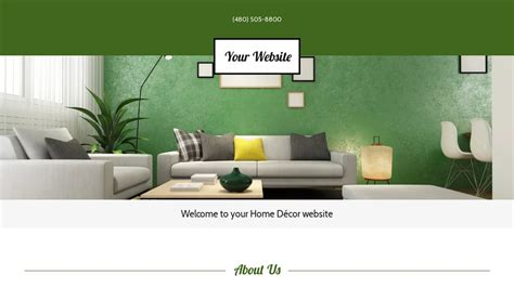 home decor websites home d 233 cor website templates godaddy