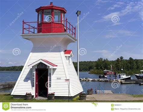 Yn1906 Outer st joseph light house at dusk royalty free stock photography cartoondealer 6766805
