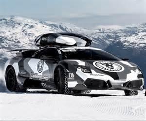 Driving A Lamborghini Driving A Lambo Up A Glacier The Thrill Of Driving